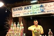 Sand Art, Dubai