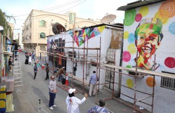 Street Art festival in Subekha, Al Khobar