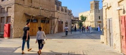 Al Seef heritage precinct, Dubai